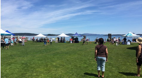 Celebrating Oceans Day with Shaw Oceans Discovery (Photo credit: Lauren McWhinnie)